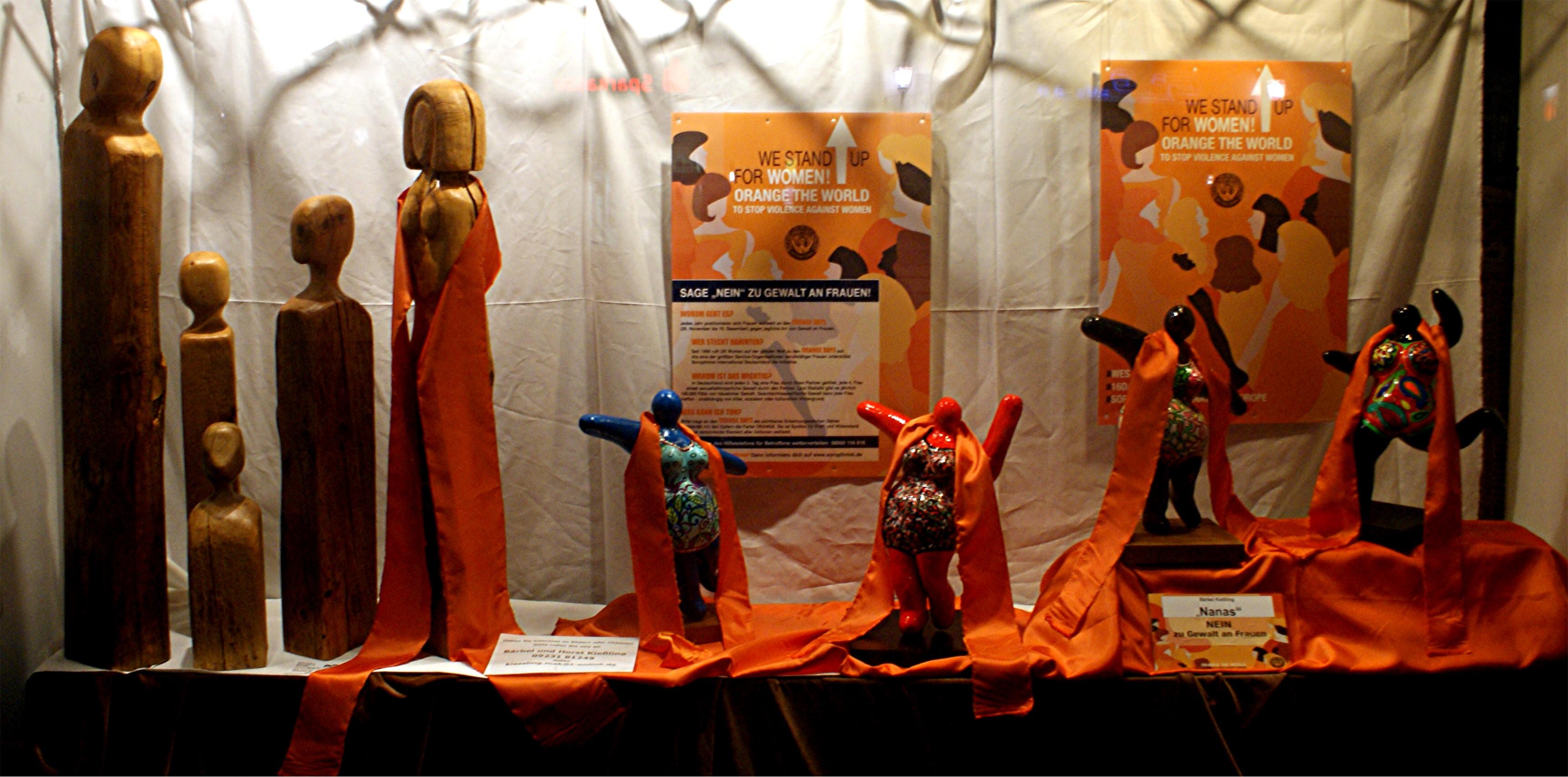 FlyerInternationaler Tag gegen Gewalt an Frauen