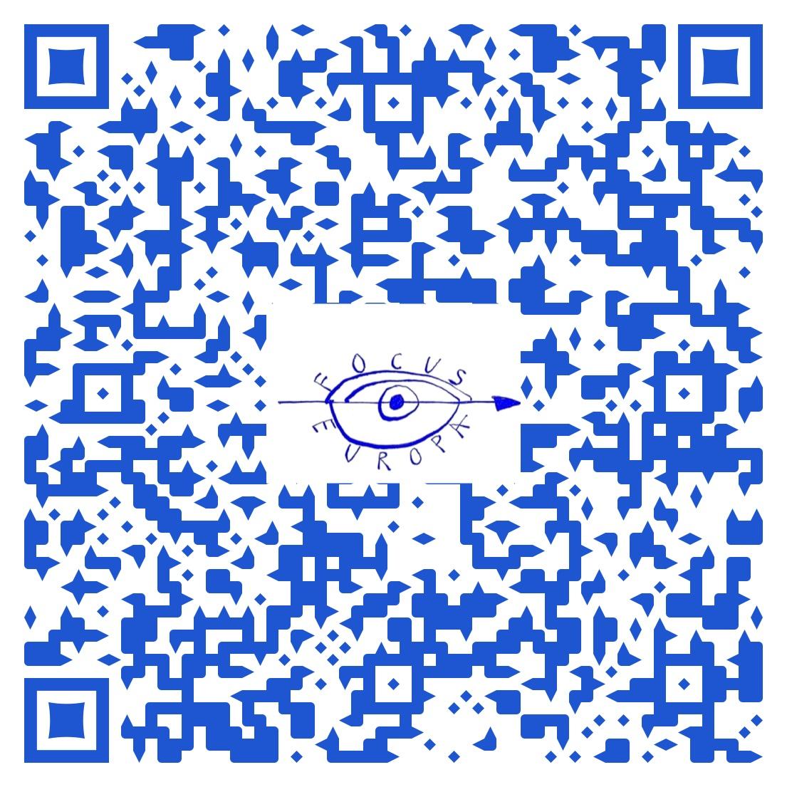 FlyerErste virtuelle Ausstellung  von focus-europa e.V.
